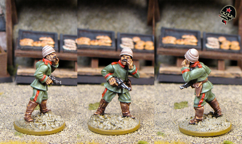 Ottoman Turks WWI from Brigade Games painted by Neldoreth - An Hour of    Ottoman Turks People